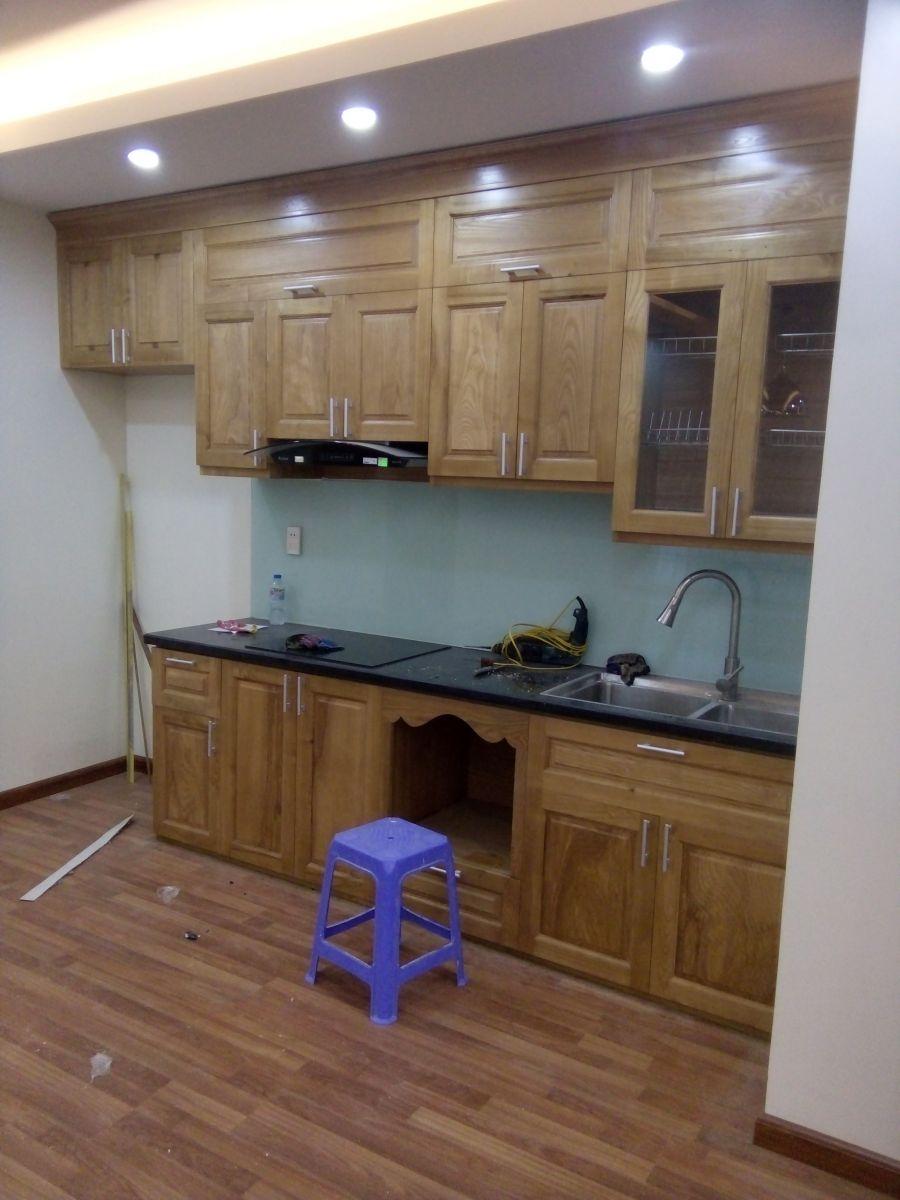 Tủ Bếp Gỗ Tần Bì | Xưởng Thi Công Tủ Bếp Gỗ Tần Bì