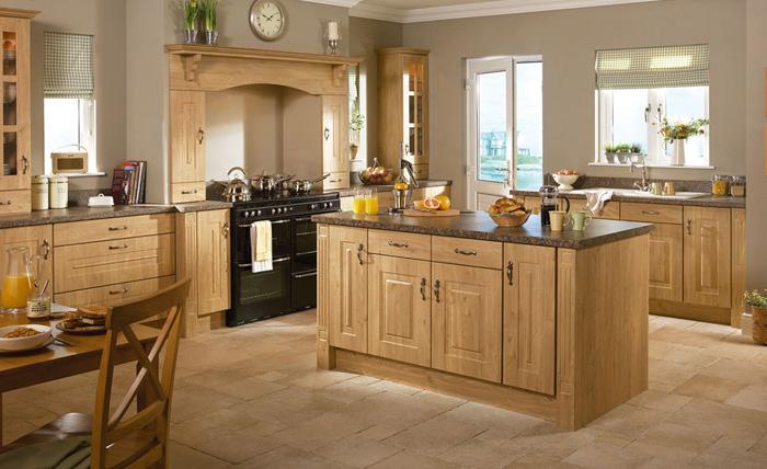 Những lý do gỗ sồi trở thành sự lựa chọn tốt nhất cho phòng bếp