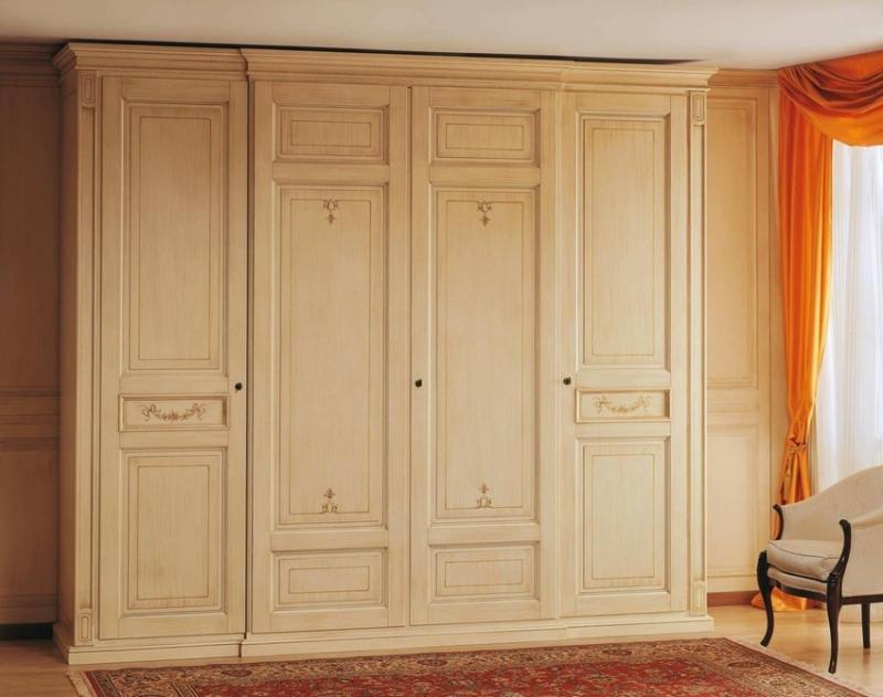Mẫu tủ quần áo gỗ sồi Hà Nội