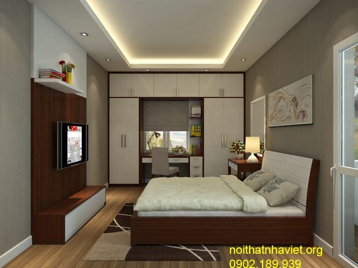 Thiết kế nội thất chung cư gold mark city