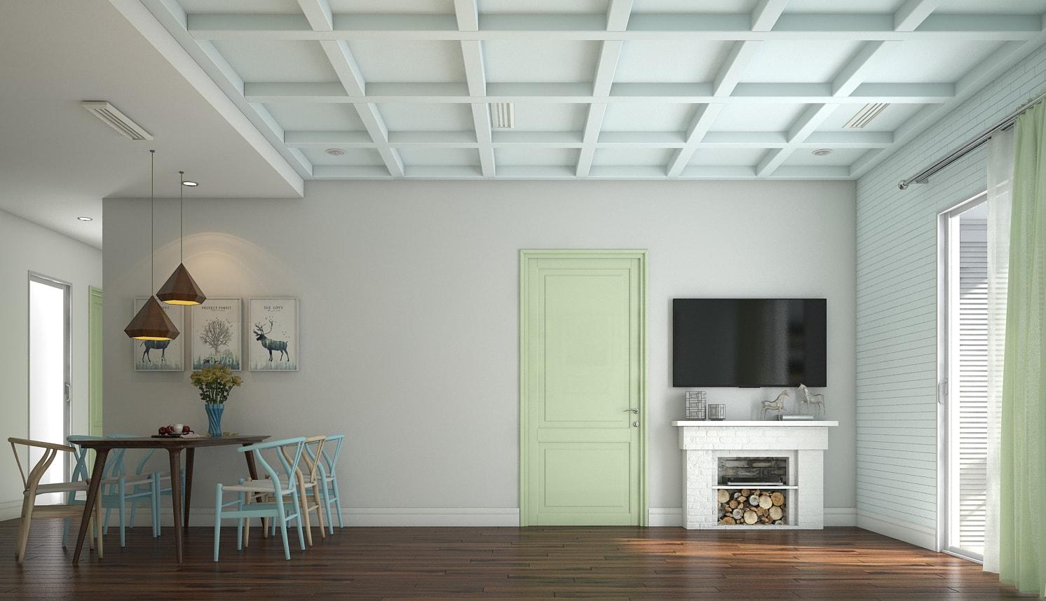 Thiết kế nội thất chung cư tại Hà Đông