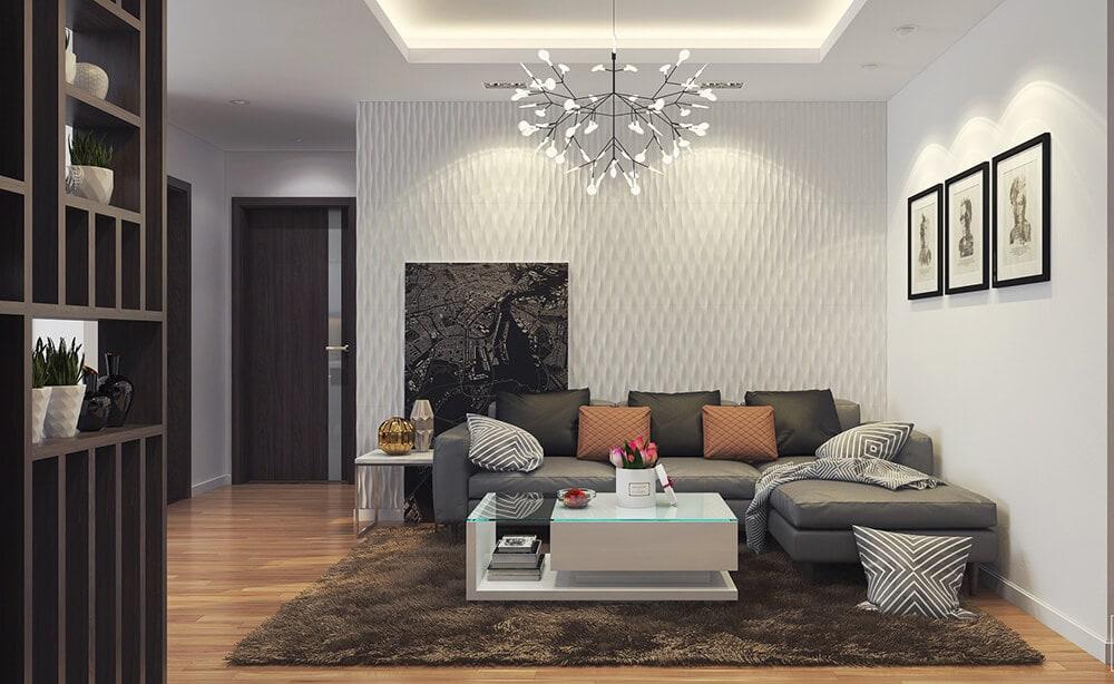 Thiết kế nội thất chung cư Dịch Vọng - Ms.Mai