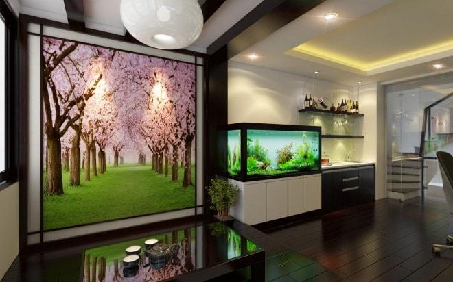 Thiết kế nội thất chung cư theo phong cách Nhật