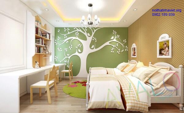 Thiết kế nội thất phòng ngủ chung cư Royal City Nguyễn Trãi