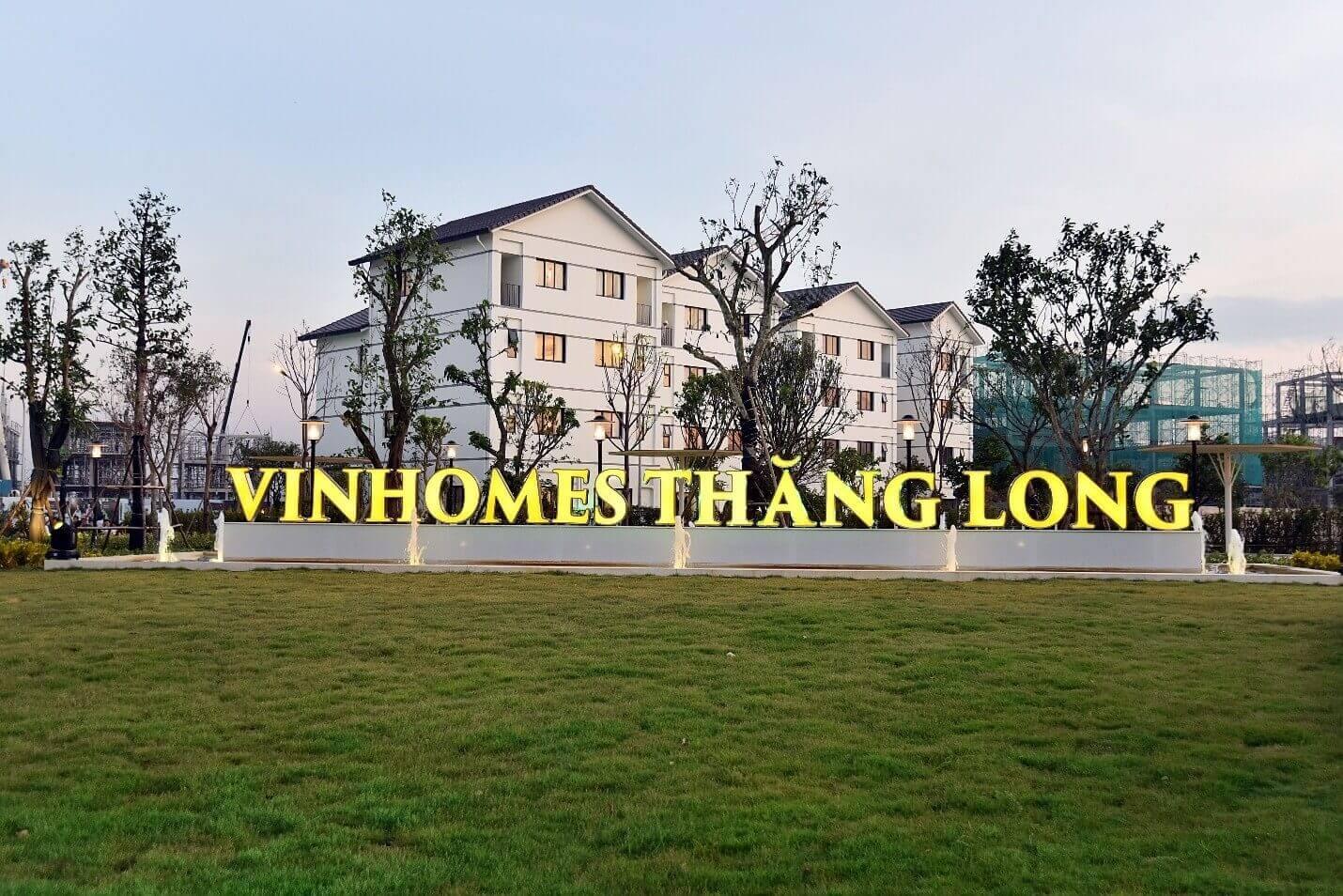 Thiết kế nội thất phòng khách biệt thự Vinhomes Thăng Long
