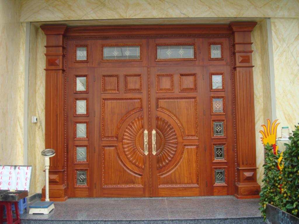Báo giá cửa gỗ lim Nam Phi