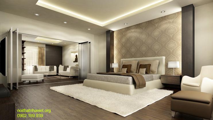 Thiết kế nội thất phòng ngủ chung cư Time City Minh Khai