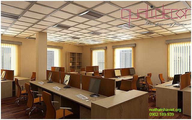 Thiết kế nội thất văn phòng Tân Mai Hoàng Mai Hà Nội
