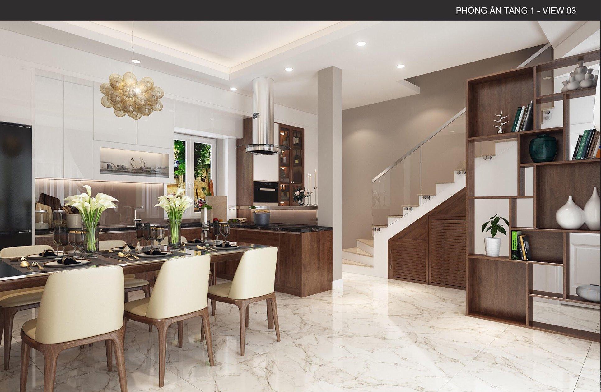 Thiết kế nội thất phòng bếp chung cư và những điều cần lưu ý