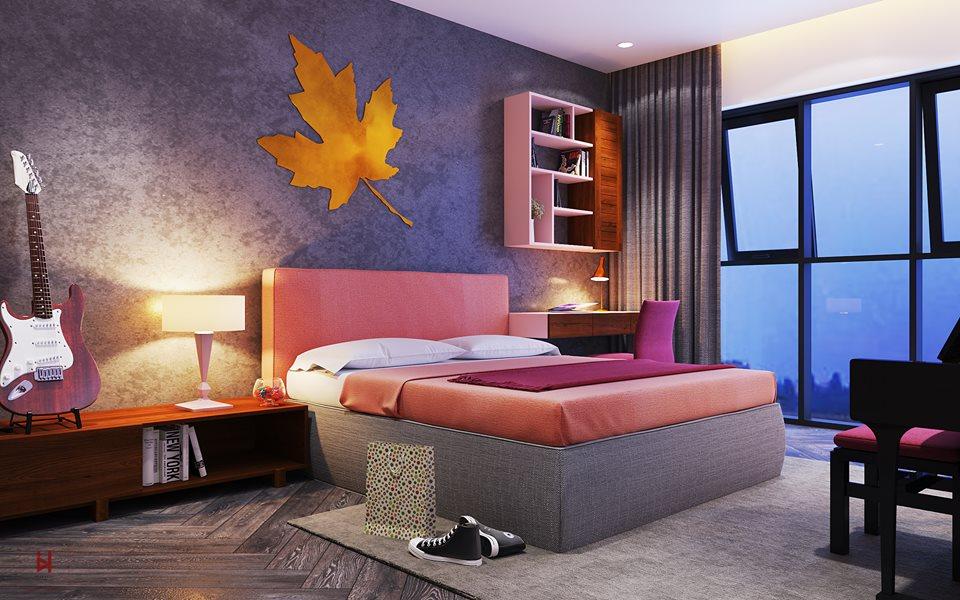 Tổng hợp thiết kế phòng ngủ hiện đại cho chung cư cao cấp