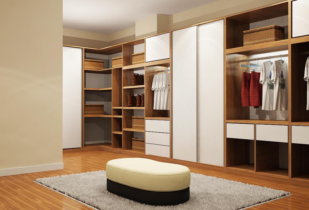 Mách bạn cách chọn mua tủ quần áo gỗ công nghiệp đúng cách