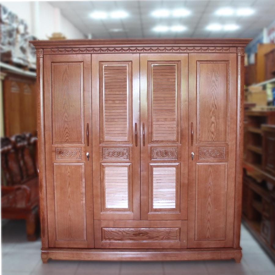 Tủ quần áo gỗ sồi 25
