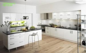 Tủ bếp gỗ MDF chống ẩm sơn 03
