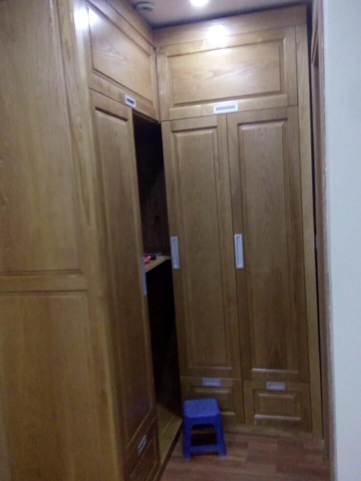 Tủ áo gỗ sồi 01