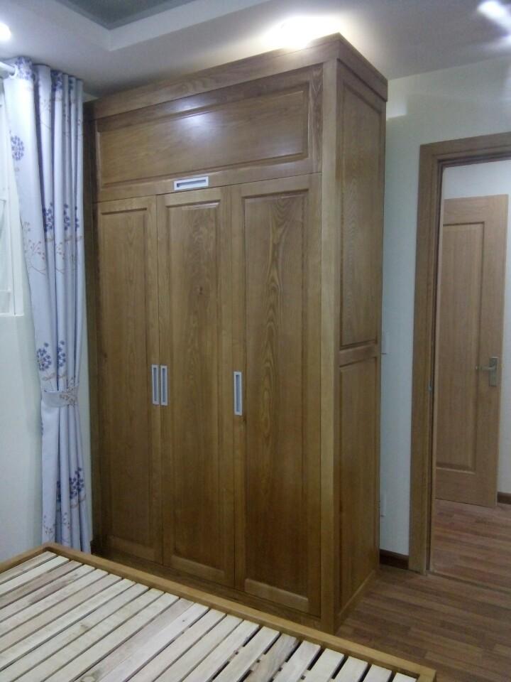 Tủ áo gỗ sồi 02