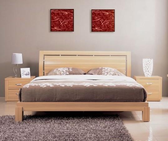 Giường gỗ sồi( tần bì)
