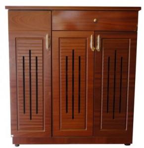 Tủ giày gỗ Veneer