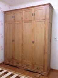 Tủ quần áo gỗ sồi 08