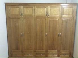 Tủ quần áo gỗ sồi 17