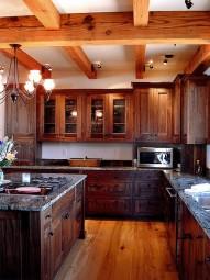 Tủ bếp gỗ óc chó 06