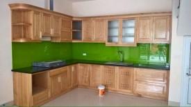 Tủ bếp gỗ sồi 26