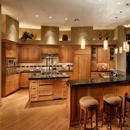 Tủ bếp gỗ sồi 30