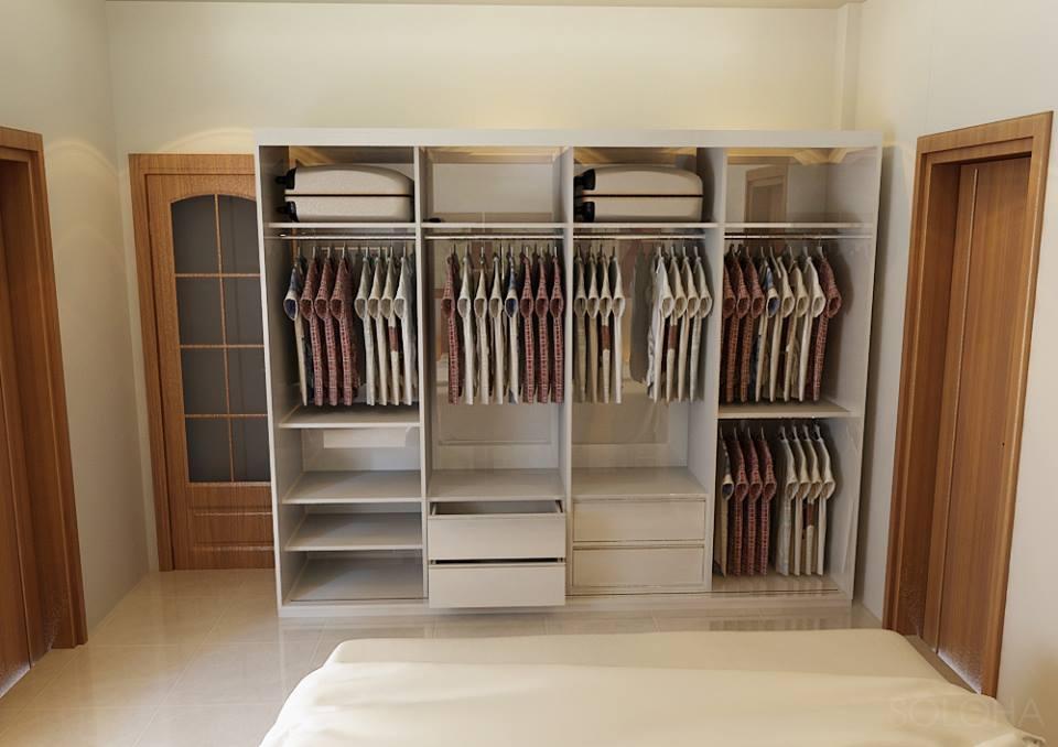 Chia sẻ kinh nghiệm chọn mua tủ quần áo gỗ công nghiệp