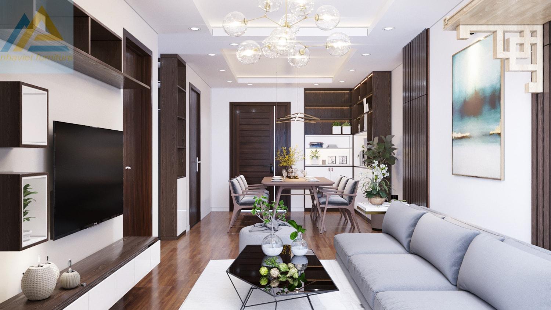 Thiết kế thi công nội thất chung cư An Bình City