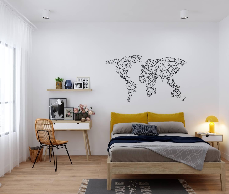 Khám phá thiết kế nội thất phòng ngủ cho cô nàng độc thân