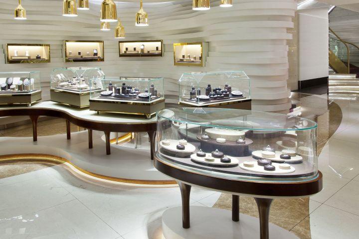 Khám phá thiết kế showroom trang sức ấn tượng tại Hà Nội