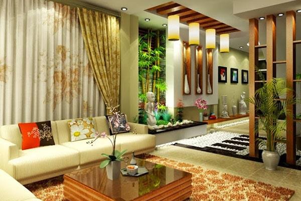 Phong cách thiết kế nội thất phòng khách đẹp, sang trọng