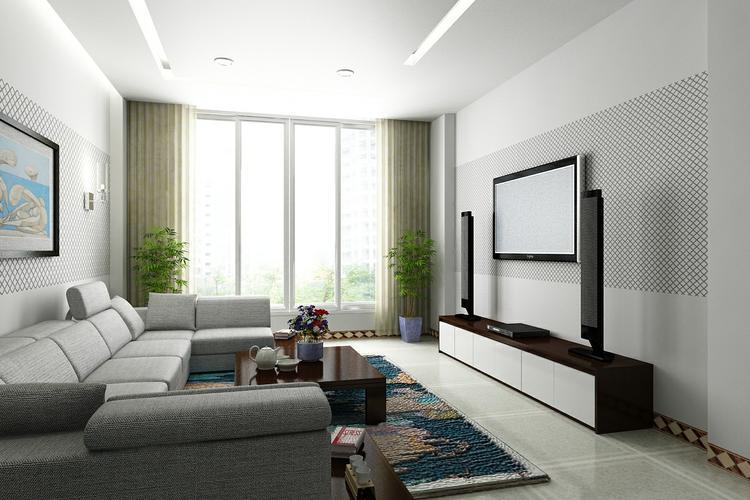 Thiết kế nội thất cho phòng khách nhỏ xinh, gọn gàng