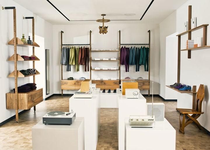 Thiết kế showroom thời trang nam ấn tượng