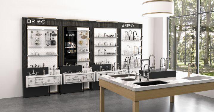 Mẫu thiết kế nội thất showroom vật liệu xây dựng đẹp