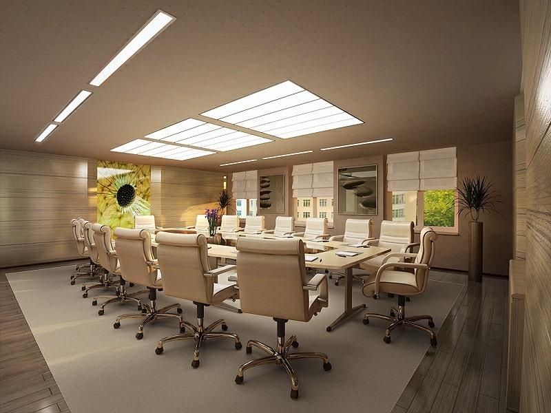 Thiết kế nội thất phòng họp cho văn phòng nhỏ