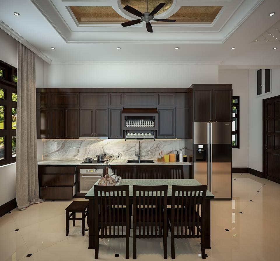 Tổng hợp mẫu thiết kế phòng bếp cho chung cư sang trọng, hiện đại