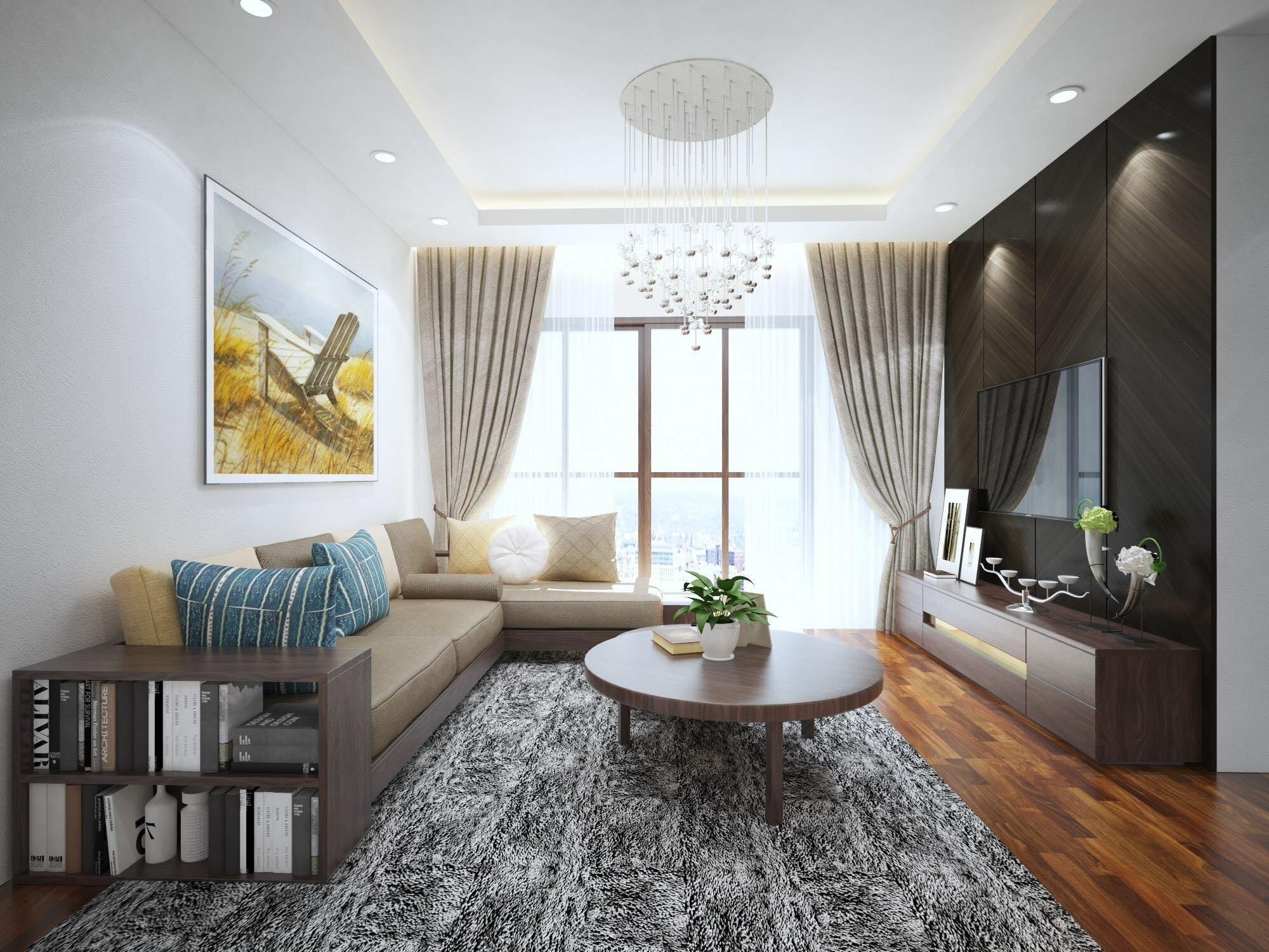 Thiết kế nội thất phòng cách chung cư cao cấp sang trọng, đẹp như mơ