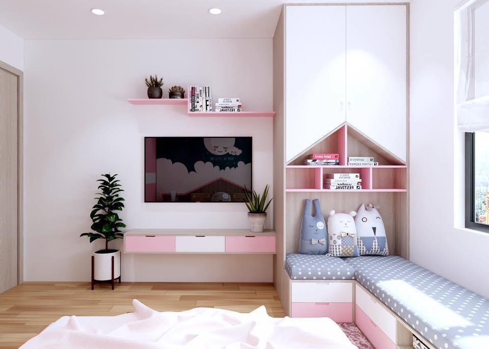 Tổng hợp mẫu thiết kế phòng ngủ đẹp như mơ cho bé