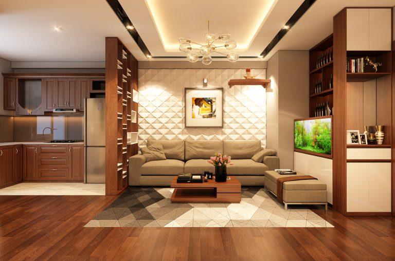 Thi công nội thất chung cư tại Hà Đông