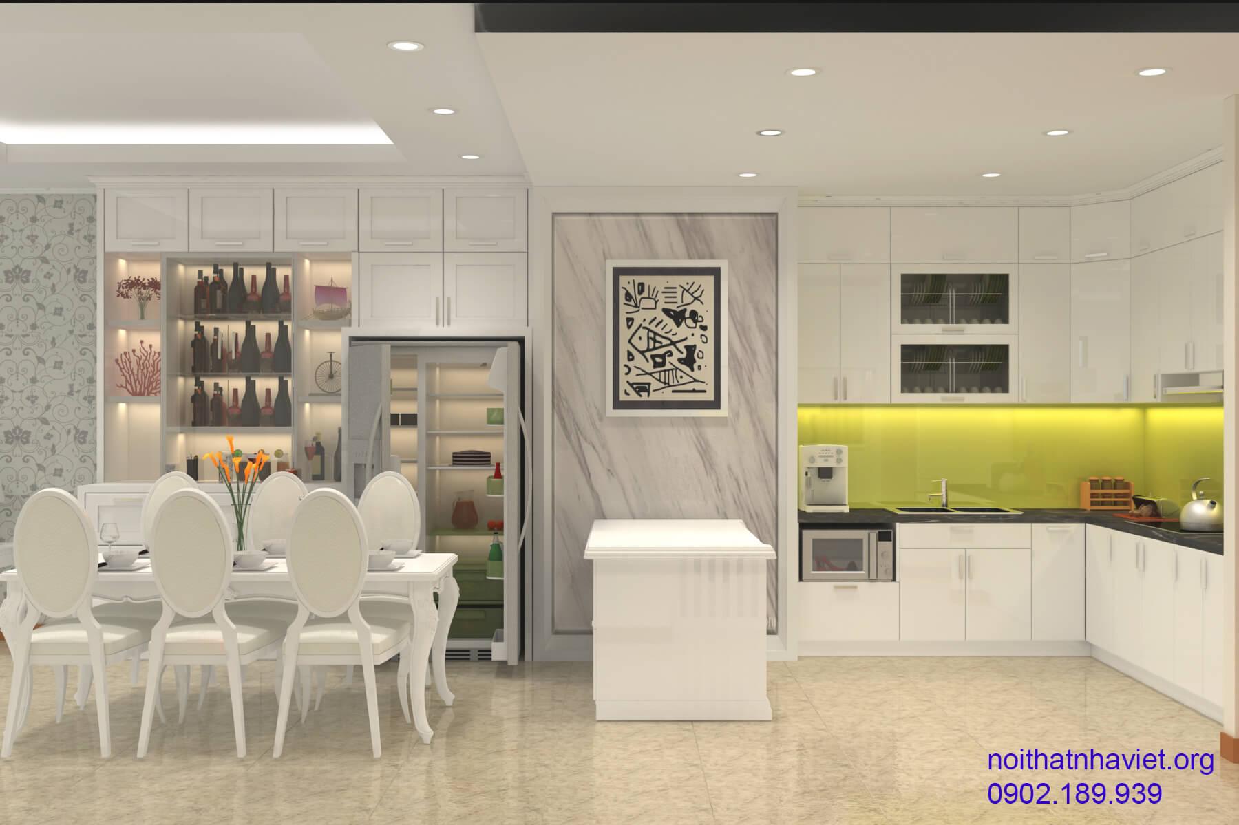 7 mẫu thiết kế phòng bếp đẹp cho các bà nội trợ