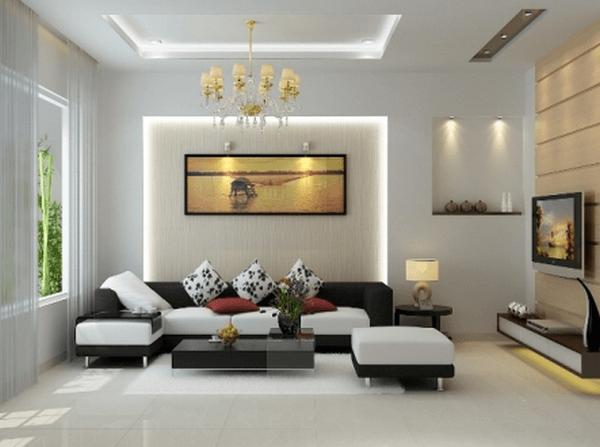 5 mẫu thiết kế nội thất phòng khách thu hút mọi ánh nhìn