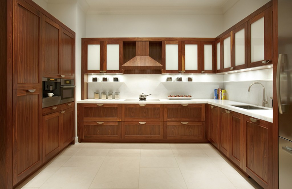 Bộ sưu tập tủ bếp gỗ sồi Nga đẹp